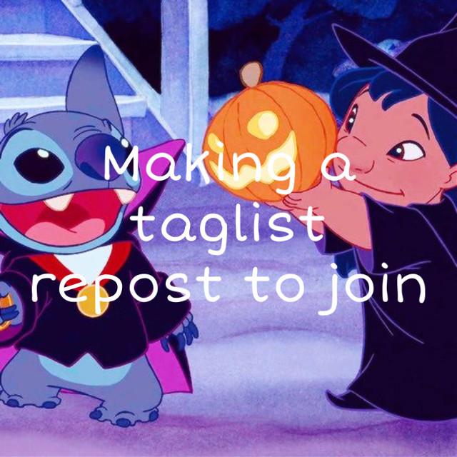 I decided that i am going to make a taglist #taglist
