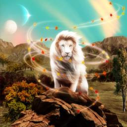lion fantasy fantasyart imagination freetoedit