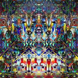 art drawing digitalart abstractart trippyart