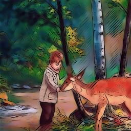 forest friendship nature myedit freetoedit
