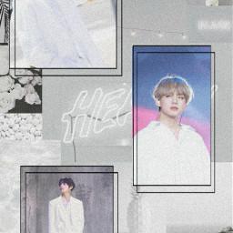 taehyung bts army btsarmy wallpaper white freetoedit