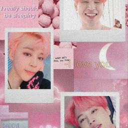 jimin jm mochi army bts btsarmy wallpaper pink aesthetic freetoedit