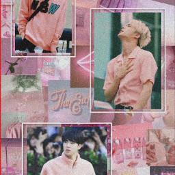 bts army love jin pink wallpaper aesthetic btsarmy seokjin freetoedit