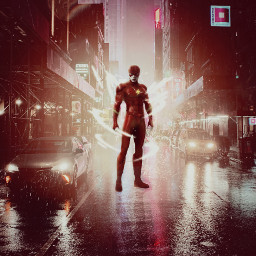 flash heros superhero city streetlight electro freetoedit unsplash