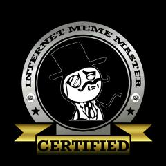 internetmememaster internet meme master memelord king thebest badass badassbitch badassmofo certified award memes freetoedit
