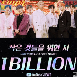 boywithluv 1billionviews bts love