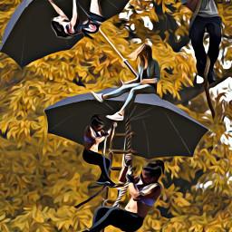 freetoedit myedit magiceffect oileffect ombrello ircundertheumbrella