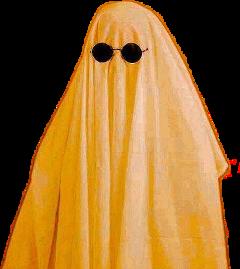 halloween harryween spookyseason itsspookyseason october ghost pfp orange glasses ghostphotoshoot ghosttrend ghoststicker aesthetic orangeaesthetic freetoedit