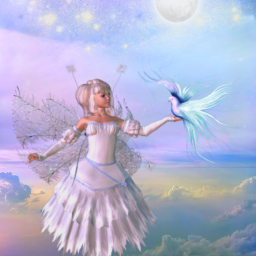 fantasyart alternateuniverse makebelieve myimagination fairy sky clouds stars moonlight dreamy surreal surrealistic colorful pastelcolors stickerart coloradjust picsarteffects heypicsart myedit madewithpicsart freetoedit