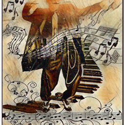 chicago music dance keys notes dancing musicnotes scales sing singing musician butterfly doubleexposure natnat7w freetoedit