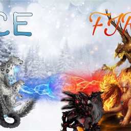iceandfire leopard griffin warriors freetoedit