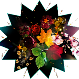 deko flowerstar silvisumm sticker freetoedit