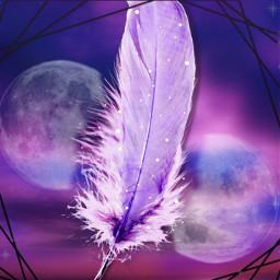 freetoedit magic moon sunset pen