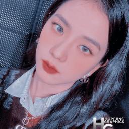 freetoedit blackpink jisoo kimjisoo kpop jisookim stayinspired aesthetic love sick girls korean hopejins jennie byme pink blue heypicsart madewithpicsart selfie kawaii cute style winter beauty
