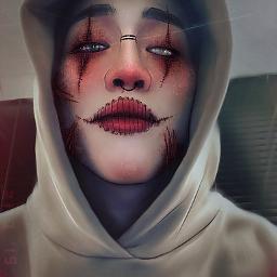 bambam halloween got7 edit kpop got7edit manip manipulation blood stitches got7bambam kunpimook bhuwakul bambamedit ibispaintx