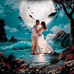 madewithpicsart picsartedit picsarteffects creative interesting imagination moon fantasy remixed freetoedit
