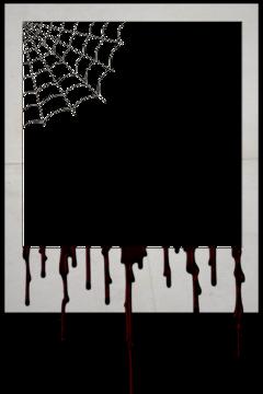 halloween polaroid scary aesthetic vintage useit sticker freetoedit