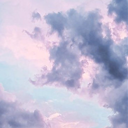 freetoedit clouds lavender purple dreamy sky