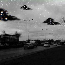 blackandwhite clouds heypicsart freetoedit remix replay srcblackclouds blackclouds