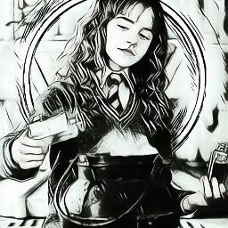 harrypotter hermionegranger hermione hermioneedit piscart freetoedit rcneonlight neonlight