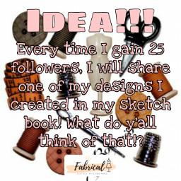 idea fabrical followme sewing designing freetoedit