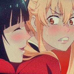 yumekojabami jumeko marysaotome mary red yellow japan anime kageguri girls animegirls summer yellowasthetic redaesthetic senpailulu animeedit kagegurigirls runayomozuki tokyo freetoedit