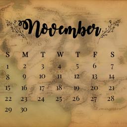 november middleearth freetoedit srcnovembercalendar novembercalendar