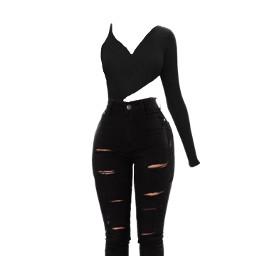 outfit blackoutfit jordan11 freetoedit