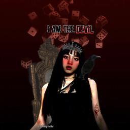 kookie_inspaation_contest yuqi gidle kpop songyuqi dark gidleyuqi darkaesthetic cards devil ohmygod queen kpopidol yuqi_g g