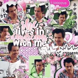 harrystylesedit harold harrystyles pinkcomplex pinkaesthetic greencomplex greenaesthetic complexbackground complex pinkoverlay greenoverlay she watermelonsugar onedirection freetoedit