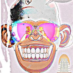 monkey see yousiime peaking freetoedit