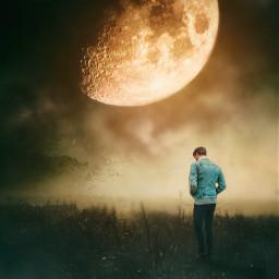 moon shine movieposter loneliness papicks surreal madewithpicsart stepbystepedit be_you be_cool myimaginationatwork myart myedit freetoedit