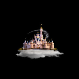 dreaming simple castle cloud editedbyme freetoedit