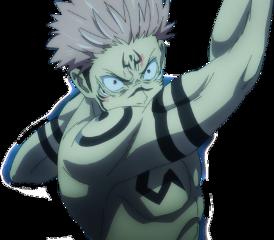 anime sticker jujutsukaisen sukuna itadoriyuji freetoedit