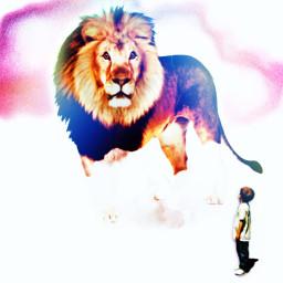 nature lion artwork wildanimal madewithpicsart freetoedit