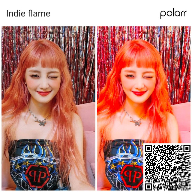 Polarr filter¡!🎀🔥 Free to use but give creds  Hope you like it uwu 💖  #minniegidle #polarrfilter #freetoedit