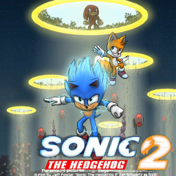 sonicthehedgehog sonicmovie2 sonicthehedgehog2 sonic sonicmovie poster freetoedit