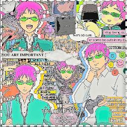 saiki saikikusuo saikik anime manga complexedit indieaesthetic indie