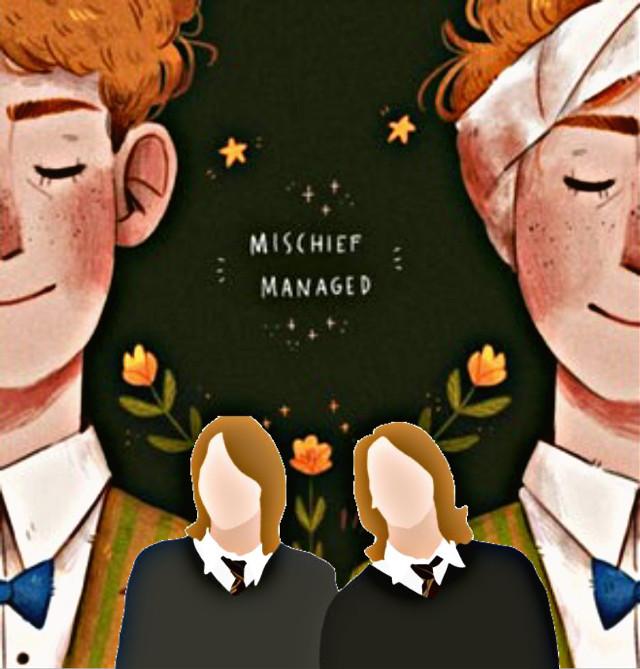 Fred & George Weasley #weasleytwins #weasleyfamily #fredweasley #georgeweasley #jamesphelps #oliverphelps #weasleywizardwheezes