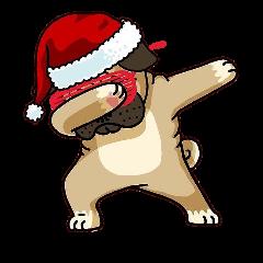 perro navideño navidad christmas happychristmas feliznavidad cool tumblr aesthetic red diana freetoedit