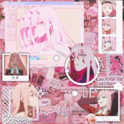 zerotwo zerotwoedit darlinginthefranxx anime animeedit zerotwowallpaper zerotwocute animegirl love pinkaesthetic pink freetoedit