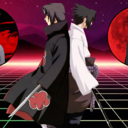 naruto narutoshippuuden narutoshippuden itachi sasuke freetoedit