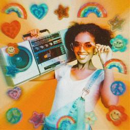 rainbow vynleffect rainbowbright stickers cute backtoschool freetoedit