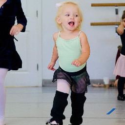 lillyk dance dancer babypic