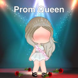 prom promqueen gacha gachalife rose diadem crown dress gachalifeclothes schalifebody gachalifeblush gachalifehair gachalifeshoes flower freetoedit