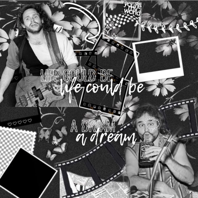 And Mikey 🖤🤍  Thats all 😊 #mikey #michaelanthony #vanhalen