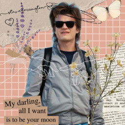 steveharrington strangerthings freetoedit
