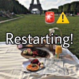 restarting update newaccount