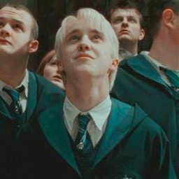 green draco malfoy dracomalfoy hp harrypotter aesthetic tom felton tomfelton loveyou harry pottermore potterhead ihatehashtags forest hermione granger ron weasly ronweasly rupertgrint emmawatson