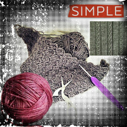 handmade crochet simple freetoedit ecmagazineletters magazineletters